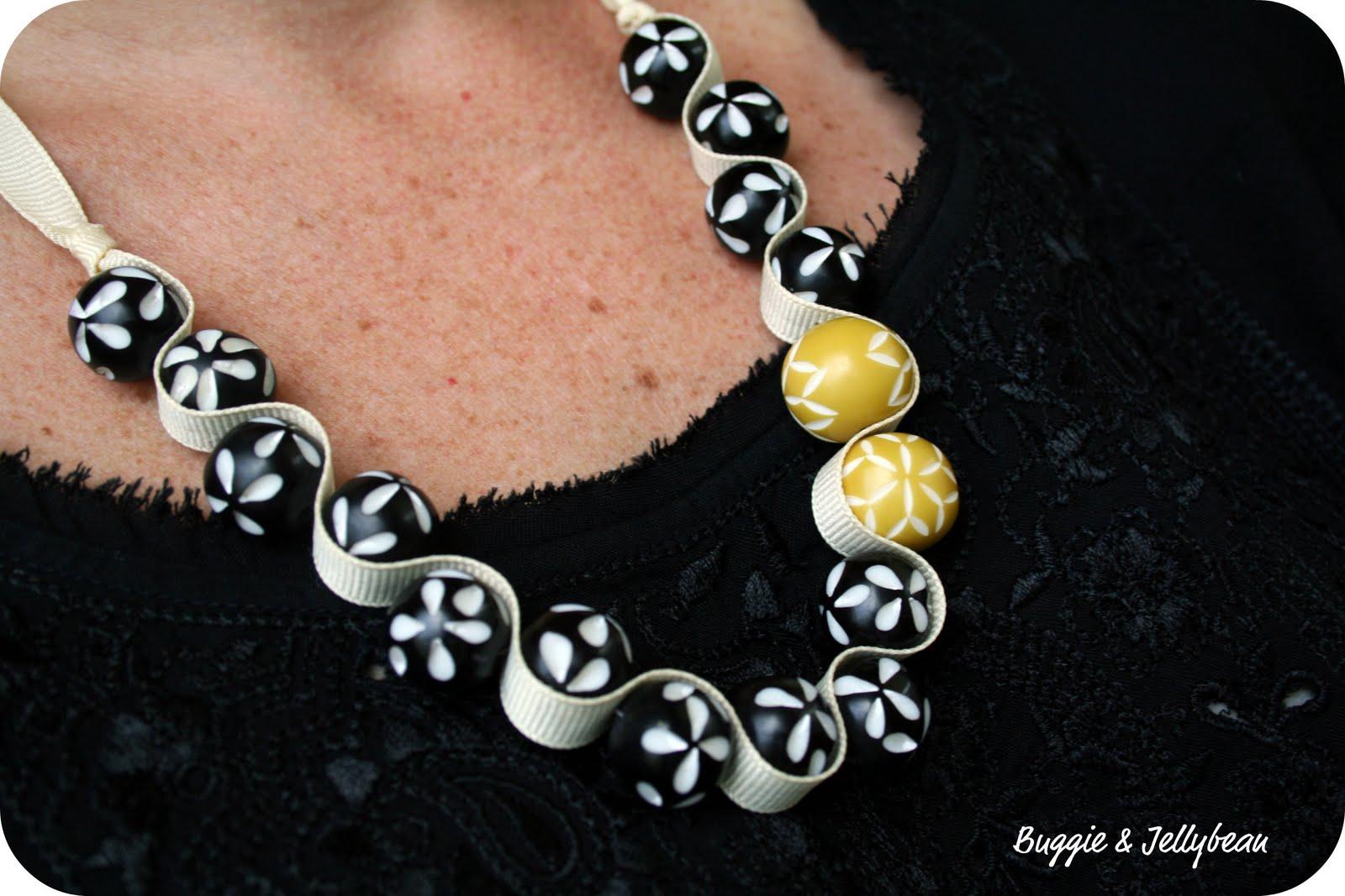 collier de perle fait main
