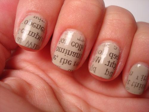 diy nail art ongles imprimés