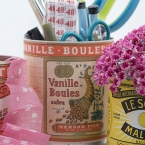 DIY boite vintage
