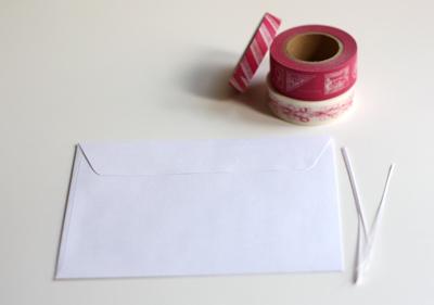 DIY Le petit sac en papier fabriqué maison