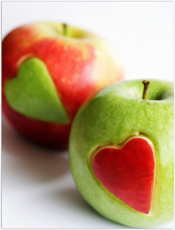 DIY pomme d'amour