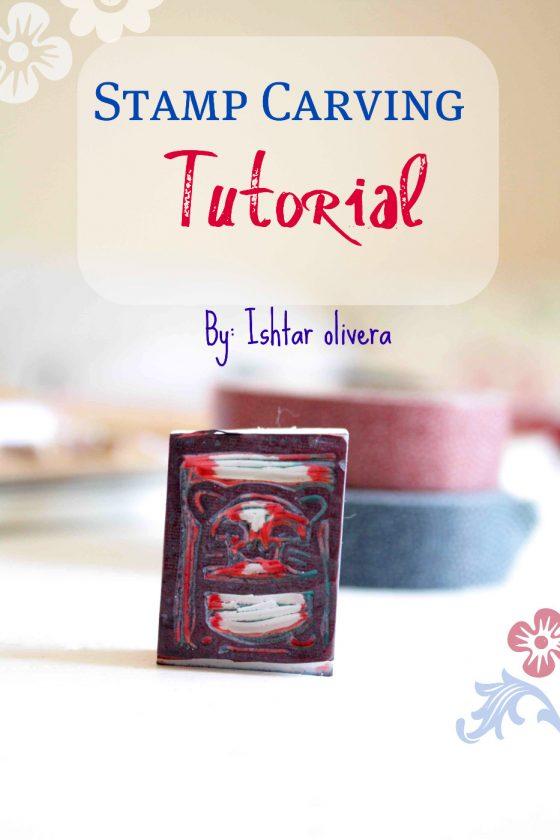 fabriquer des tampons tutorial diy