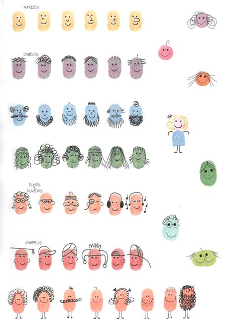 Apprendre à dessiner avec les doigts