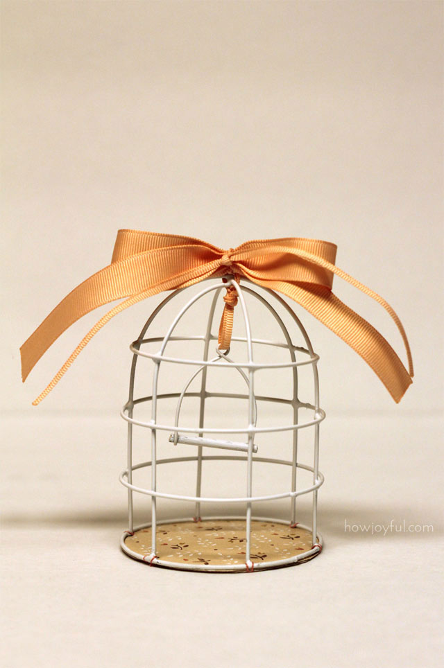 diy cage a oiseau
