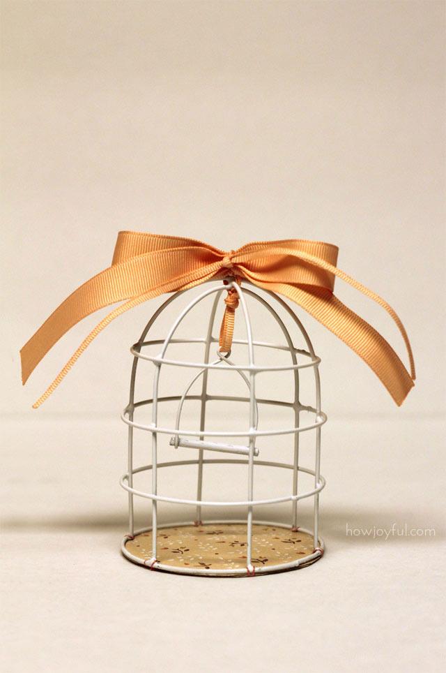 DIY Cage à oiseau en métal