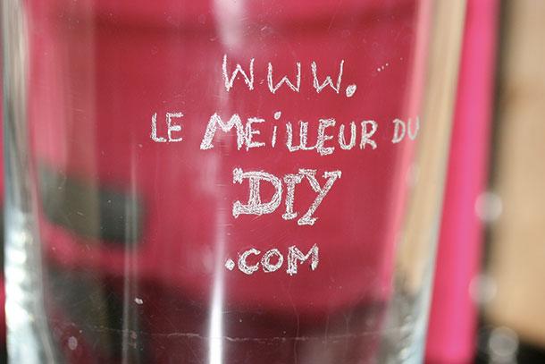 graveur DIY sur verre dremel