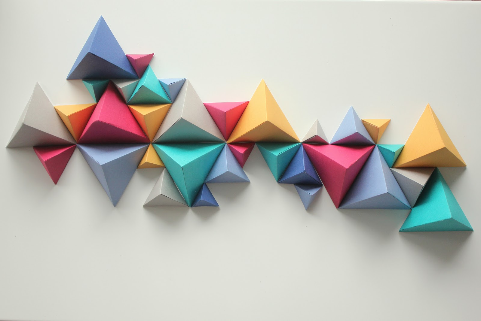 Diy jolie sculpture de pyramides le meilleur du diy - Decoration murale 3d ...