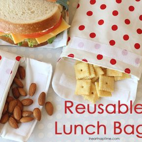 DIY Splendides sacs  sandwich et autres gourmandises