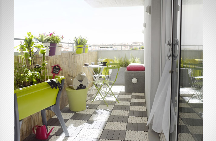 Ludivine clavel d coratrice d 39 int rieur ile de france - Amenager petit balcon appartement ...