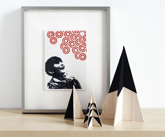 diy sapin de no l special petits appartements. Black Bedroom Furniture Sets. Home Design Ideas