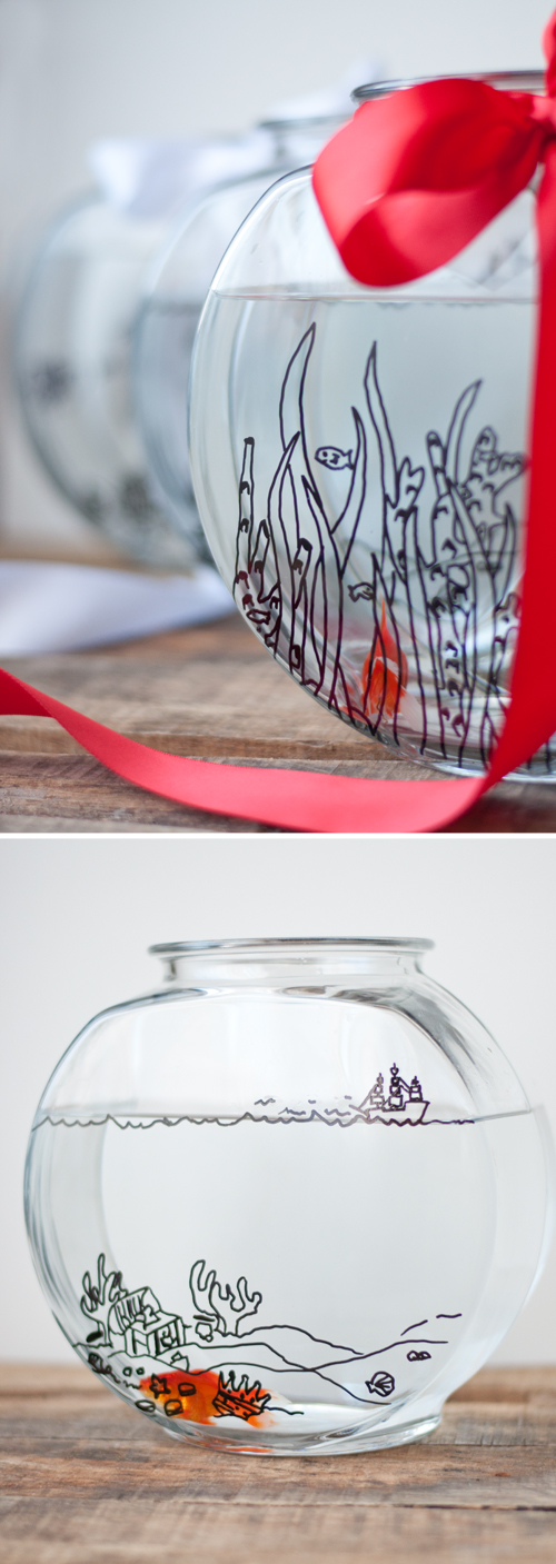 Diy comment customiser un bocal poisson le meilleur du diy for Bocal poisson plastique