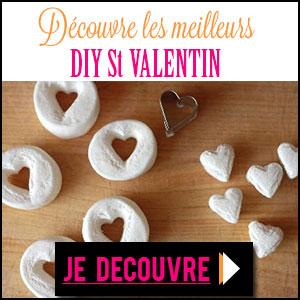 les meilleurs diy de la saint valentin sur le blog du diy. Black Bedroom Furniture Sets. Home Design Ideas