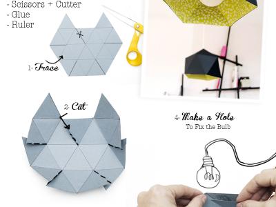 Lustre archives le meilleur du diy - Lampe en papier origami ...