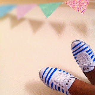 DIY customiser ses baskets en marinières