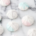 diy meringue colorees