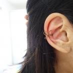 diy bijou d oreille petit noeud