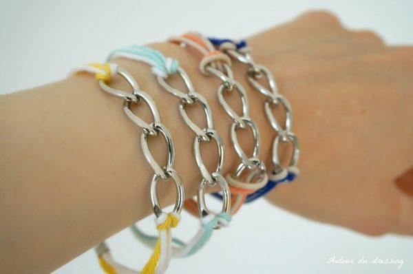 bracelet d'été à faire soi même DIY
