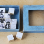 diy photo cubes puzzle