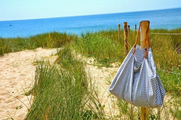 DIY sac de plage en tissu