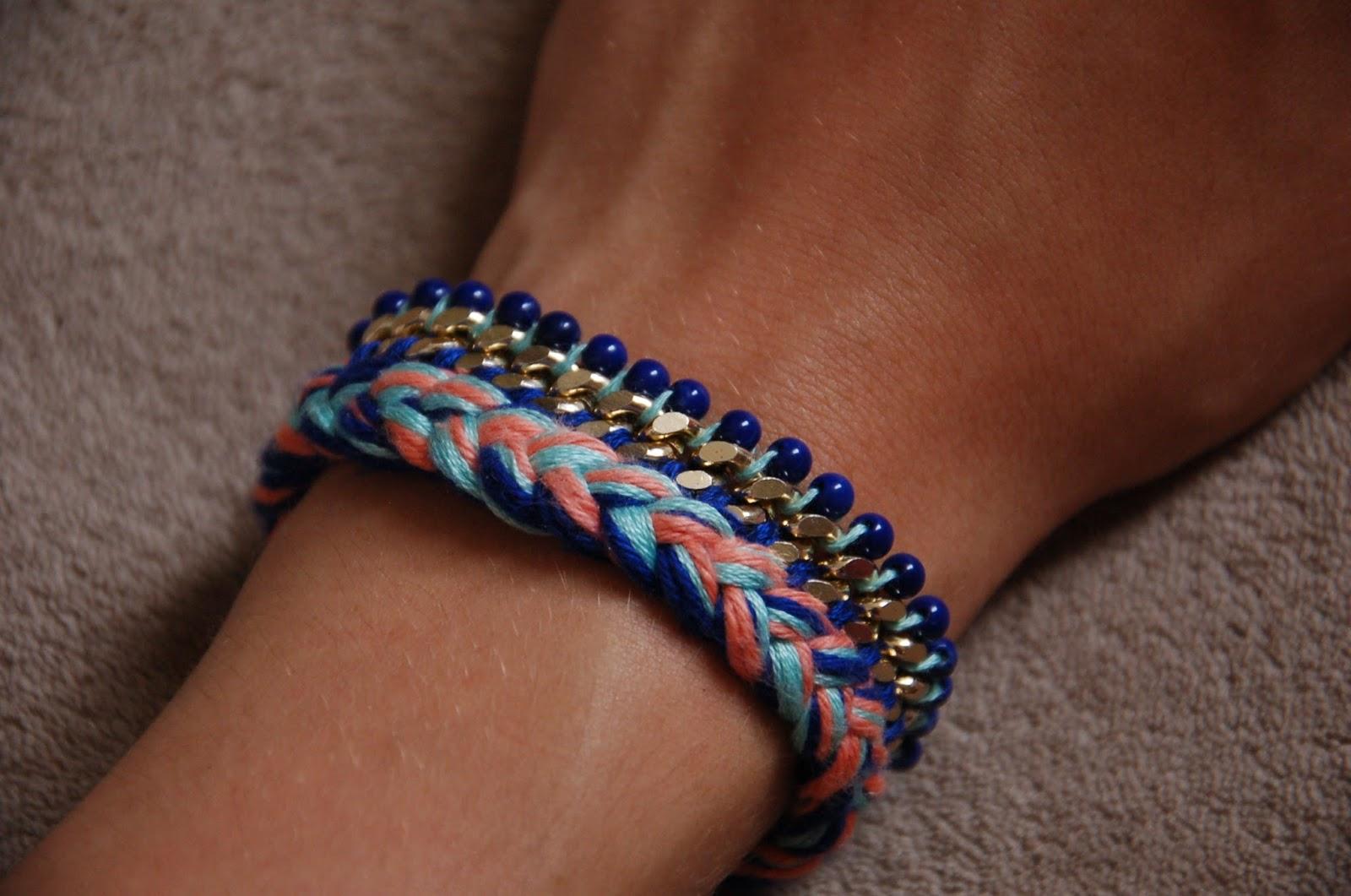 Super DIY Bracelet avec chaîne et perles - Le Meilleur du DIY SZ95