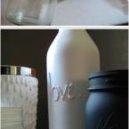 diy decorer bouteille