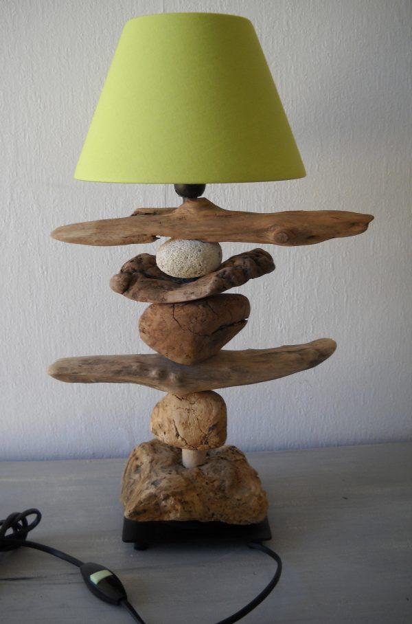 Diy lampe en bois flott le meilleur du diy for Lampe de chevet chez ikea