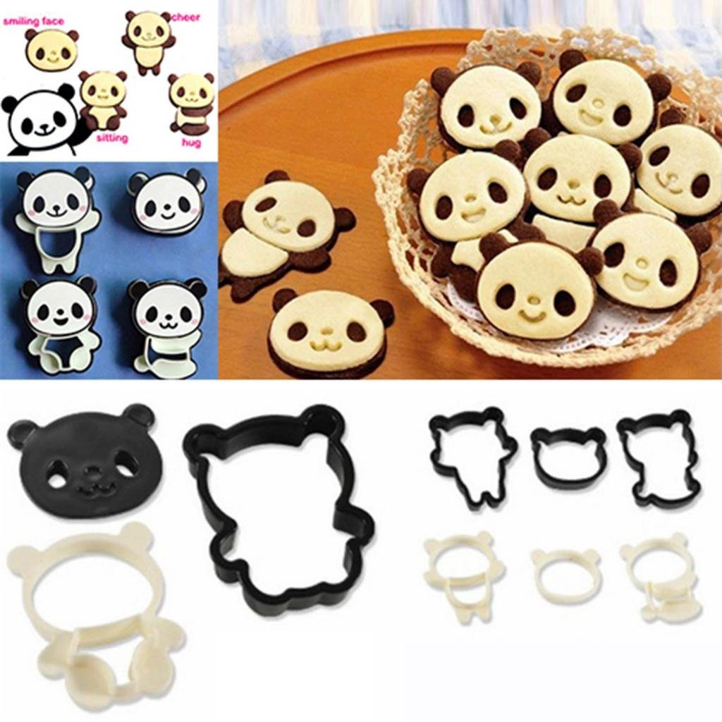 Emporte pièce de cuisine en forme de panda kawaii