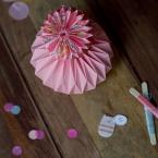 DIY origami boule de papier