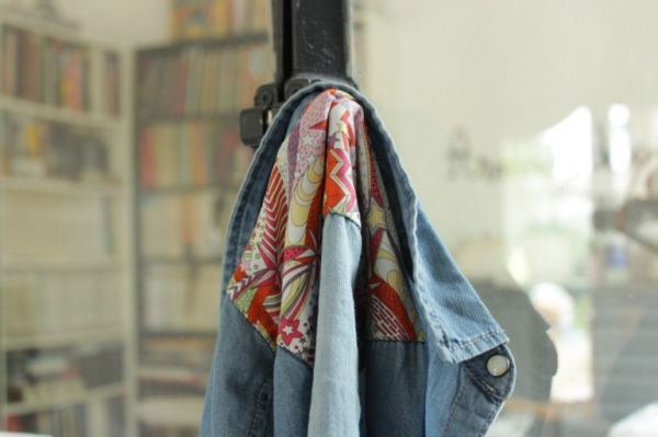 diy comment customiser sa chemise en jeans le meilleur du diy. Black Bedroom Furniture Sets. Home Design Ideas