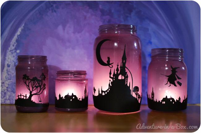 diy lanternes d coratives pour halloween le meilleur du diy. Black Bedroom Furniture Sets. Home Design Ideas