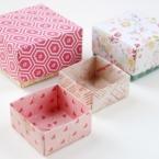 diy origami boites