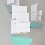 diy bateau de papier