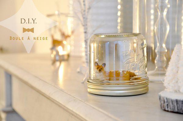 diy comment r aliser une tr s belle boule neige le meilleur du diy. Black Bedroom Furniture Sets. Home Design Ideas