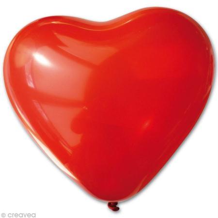 ballon en forme de coeur pour décorer