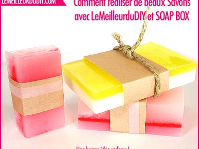 DIY comment fabriquer des savons