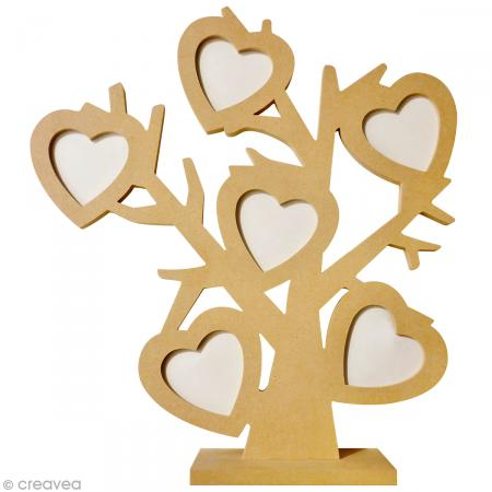 DIY arbre photo coeur