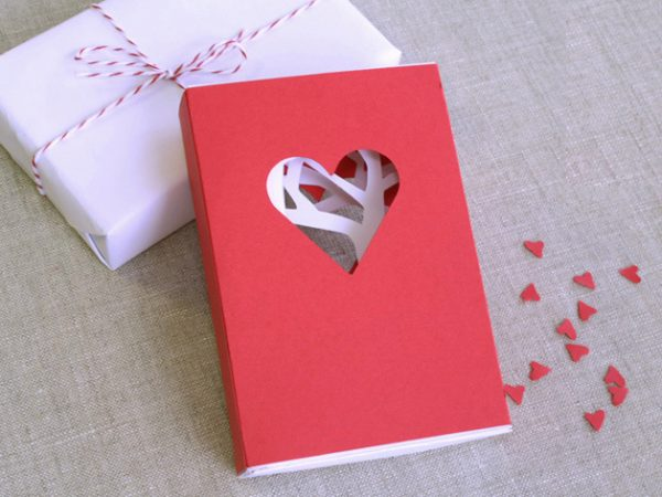 diy carte saint valentin en 3D