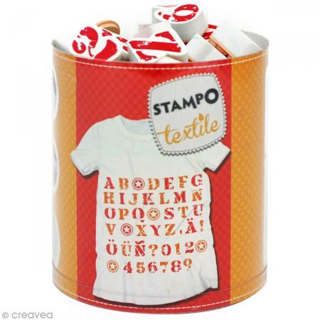 tampon textile pour tee-shirt fete des peres