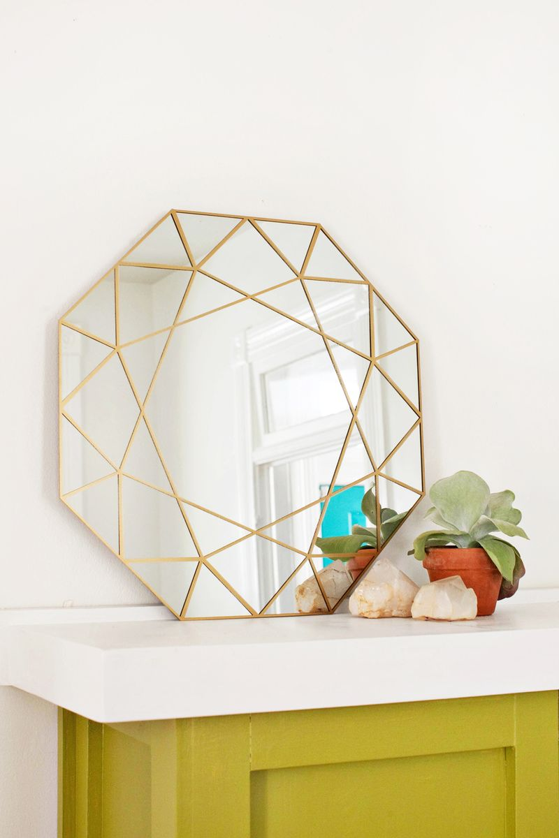 Diy miroir g o m trique faire soi m me le meilleur du diy for Technique du miroir