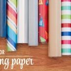 DIY Rangement pour rouleau de papier cadeau et grandes feuilles