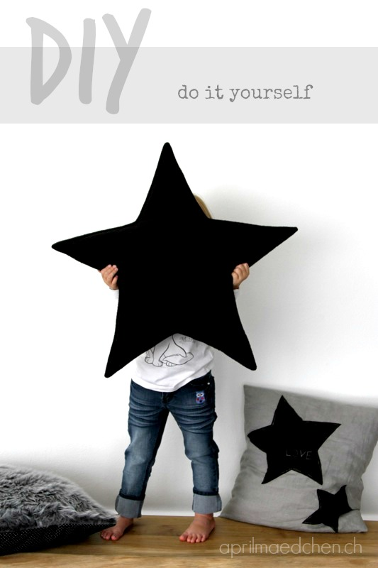diy coussin la t te dans les toiles le meilleur du diy. Black Bedroom Furniture Sets. Home Design Ideas