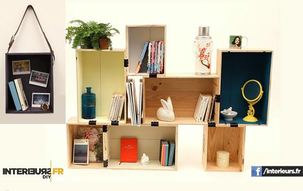 diy etag res pour rangement ultra tendance le meilleur du diy. Black Bedroom Furniture Sets. Home Design Ideas