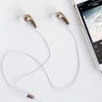 DIY écouteurs dorés