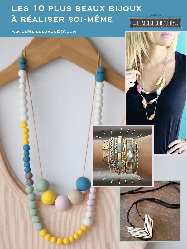 TOP 10 DIY bijoux