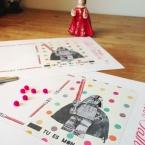 DIY Carte fête des pères pour papa geek