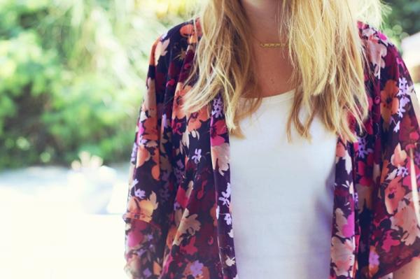 DIY kimono hyper tendance