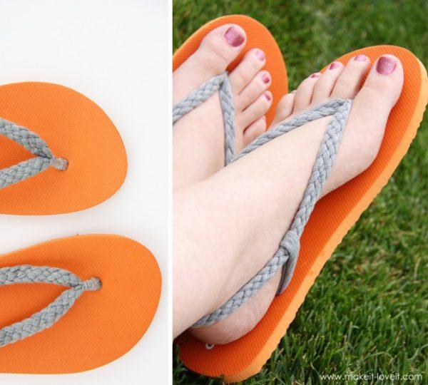 DIY Tongs customisees