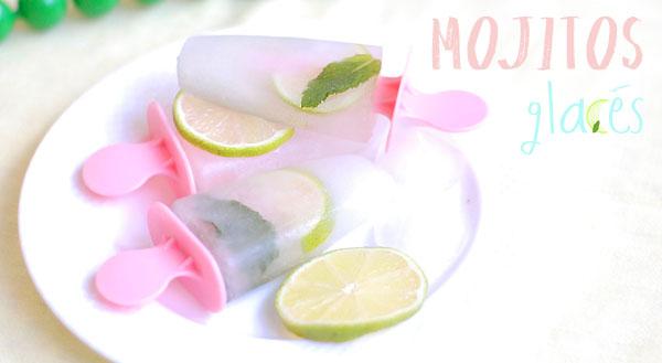 DIY recette de glace mojito