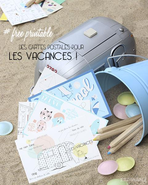 DIY Les plus belles cartes postales des vacances - Le Meilleur du DIY