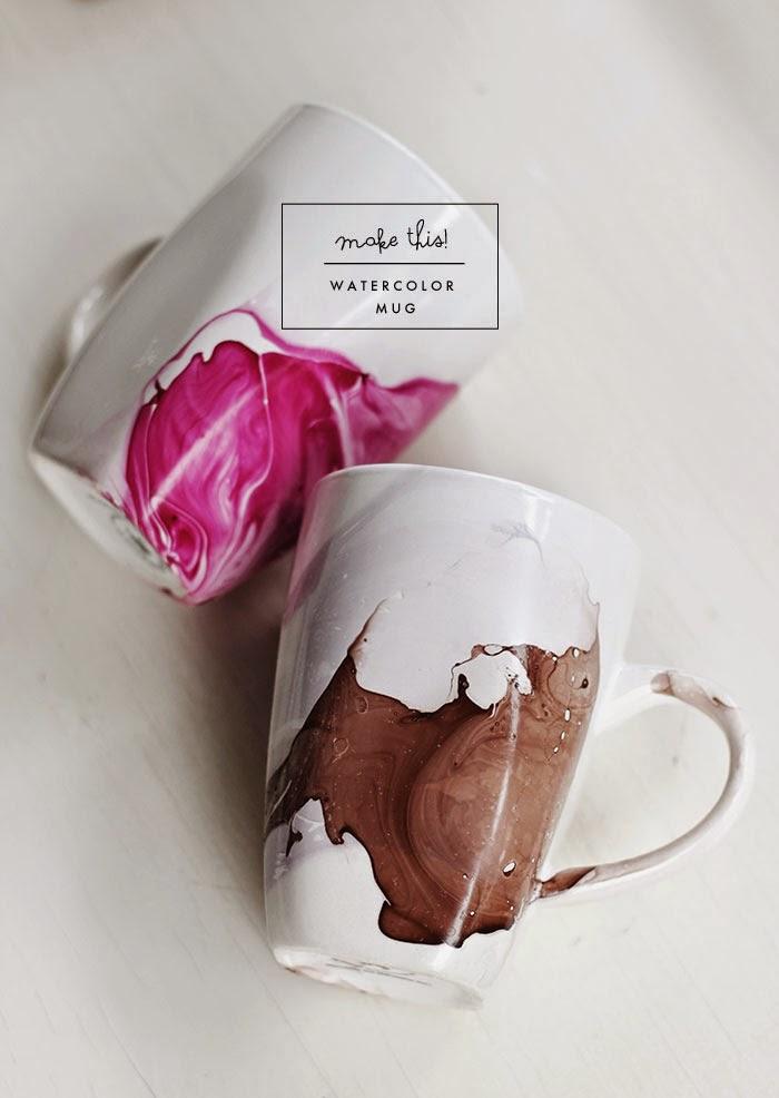 Assez DIY Comment customiser un mug avec du vernis à ongles - Le  IM62